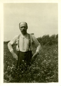 Immigrant Man in the Field